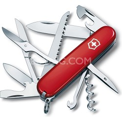 Huntsman Pocket Knife (Red)