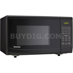 0.7 cu.ft. 700 Watt Countertop Microwave, Black