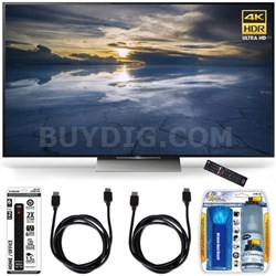XBR-75X940D 75-Inch Class 4K HDR Ultra HD TV Accessory Bundle