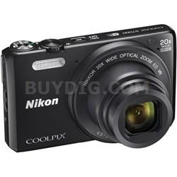 Coolpix S7000 16MP 1080p WiFi Digital Camera w/ 20X Optical Zoom - Refurbished