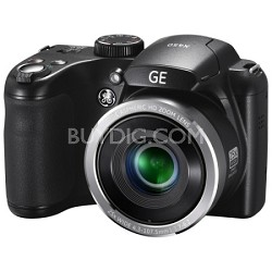 "16MP HD 720p Bridge Digital Camera 25X 2.7"" LCD (Black) X450"