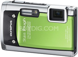 Stylus Tough 6020 Waterproof Shockproof Freezeproof Digital Camera (Green)