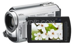 GZMG335  Hard Disk HDD/micro SD Hybrid Camcorder w/ Laser Touch