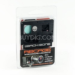 Ribcage Mod Kit For The GoPro Hero 3 Or Hero 3+