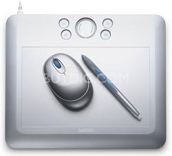 Bamboo Fun Medium Silver Tablet CTE650S-30.00 Mail In Rebate!!