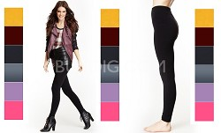 6-Pack Seamless Leggings Variety Color Pack - One Size Fits Most