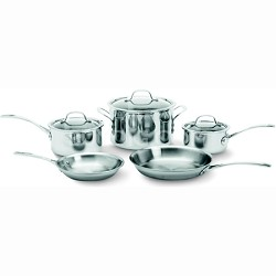 Tri-Ply Stainless Steel 8-pc. Cookware Set - 1767952