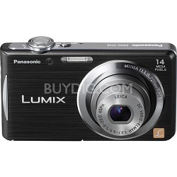 Lumix DMC-FH2 14MP Black Compact Digital Camera w/ 720p 30 fps HD Video