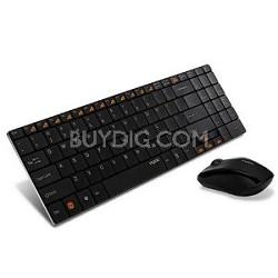 2.4Ghz Wireless keyboard Mouse Combo (9060 Black)