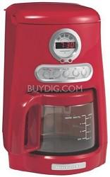 JavaStudio KCM511ER Coffee Maker, Red