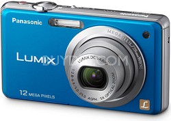 DMC-FH1A LUMIX 12.1 Megapixel Digital Camera (Blue)