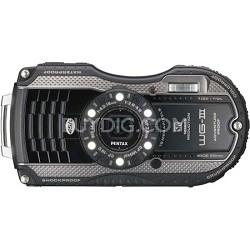 WG-3 16MP Black Waterproof Shockproof Crushproof Digital Camera