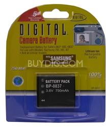 BP-0837 750mAh Lithium Battery for Samsung i6, L60, NV3 and NV7