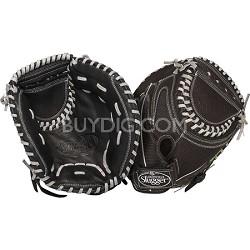 12-Inch FG Zephyr Softball Catchers Mitt Left Hand Throw - Black