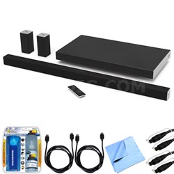 "SB4551-D5 SmartCast 45"" 5.1 Sound Bar System w/ Essential Accessory Bundle"