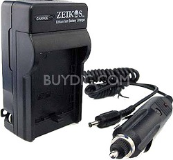 AC/DC Rapid battery charger for Canon BP-808, 809, 819 series batteries