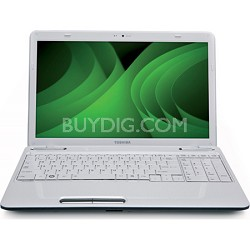 "Satellite 15.6"" L655-S5166WH Notebook PC - White Intel Ci5 480M Processor"