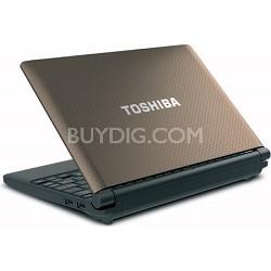 """Mini 10.1"""" NB505-N508BN Netbook PC - Brown Intel Atom processor N455"""