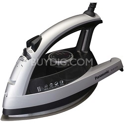 NI-W750TS - 360-Degree Quick Multi-Directional Steam Iron, Silver and Black