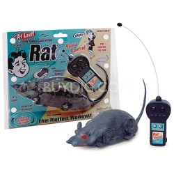 Remote Controlled Rat - 3981