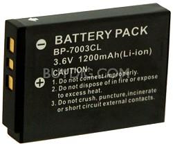 1200mAh Lithium Battery for Kodak M1033, M1093, M380 and similar cameras