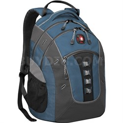 SwissGear Granite Deluxe Laptop Backpack - (Blue/Black)