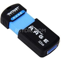 Supersonic Rage XT 32GB USB 3.0 Flash Drive 180MB/s Read 50MB/s Write