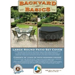 Round Patio Cover 30x80""