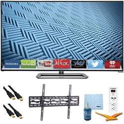 """M652i-B - 65"""" 1080p 240Hz Ultra-Slim LED Smart HDTV Tilt Mount & Hook-Up Bundle"""