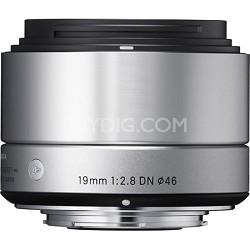 19mm F2.8 EX DN ART Lens for Sony (Silver)