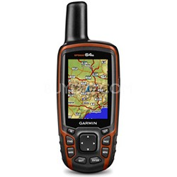 GPSMAP 64s Worldwide Handheld GPS with 1 Year BirdsEye Subscription 010-01199-10