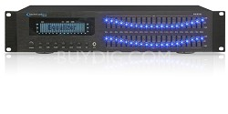 Professional Dual 20 Band Equalizer (Black)