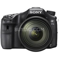 a77II 24.3MP HD 1080p DSLR Camera with 16-50mm F2.8 Lens