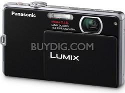 DMC-FP1K LUMIX 12.1 MP Digital Camera (Black) - Refurbished
