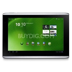 """ICONIA TAB A500-10S16U 10.1"""" Tablet with Android Refurbished"""