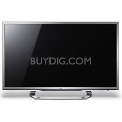 """55G2 55"""" Cinema 1080P 120Hz 3D LED with Google TV, Dual Core & Six 3D Glasses"""