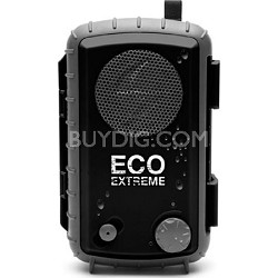 Eco Extreme 3.5mm Aux Waterproof Portable Speaker Case - Black