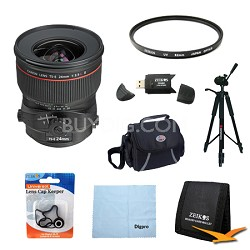 TS-E 24mm f/3.5L II Ultra-Wide Tilt-Shift Manual Focus Lens Exclusive Pro Kit