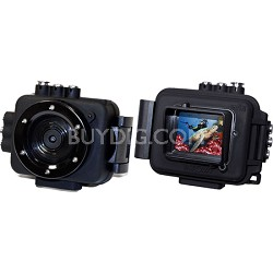 EDGE X Waterproof 1080p 60 FPS POV Action Video Camera with WiFi
