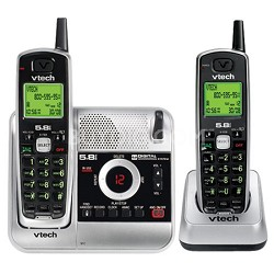 CS5121-2 - 5.8GHz Two Handset Cordless Answering System with Caller ID
