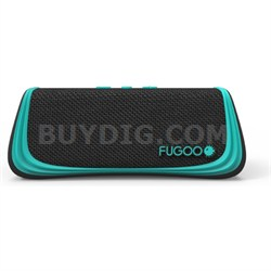 Sport Portable Waterproof Speaker with Bluetooth - Black/Green (F6SPKG01)