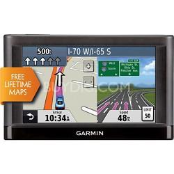 "nuvi 42LM 4.3"" GPS Navigation System with Lifetime Maps Refurb 1 Year Warranty"
