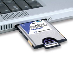 Memory Stick PCMCIA Adapter