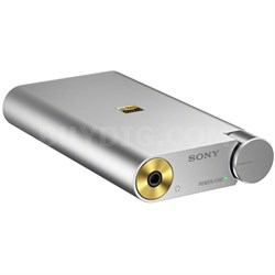 PHA1A Portable Hi-Res DAC Headphone Amplifier - Silver