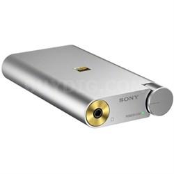PHA1A Portable Hi-Res DAC Headphone Amplifier - Silver