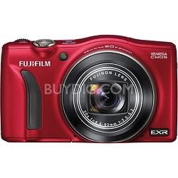 FinePix F750EXR 16MP EXR CMOS Digital Camera (Red)