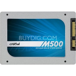 "240GB M500 SATA 6Gbps 2.5"" 7mm - Internal Solid State Drive-SSD (CT240M500SSD1)"