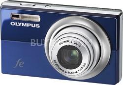 "FE-5010 12MP 2.7"" LCD Digital Camera (Blue) - REFURBISHED"