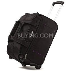 "Savor 18"" Wheeled Tote Duffel Bag - Licorice"