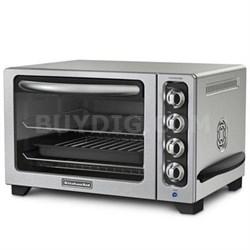 """12"""" Convection Countertop Oven in Contour Silver - KCO223CU"""